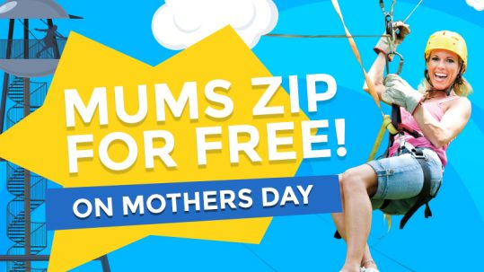 Mother's Day zip wire offer