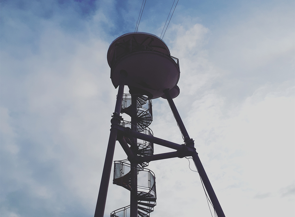 zip wire tower