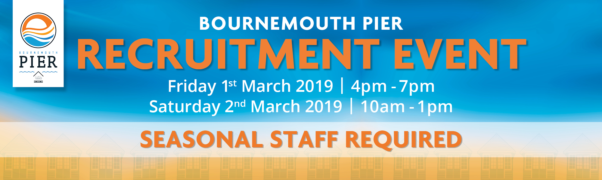 Recruitment Event at Bournemouth Pier