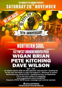 Soul on the Sea Flyer